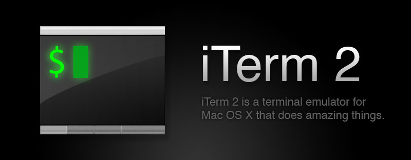 iTerm2 is a terminal emulator for macOS that does amazing things.