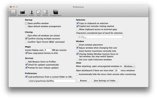 Features - iTerm2 - macOS Terminal Replacement